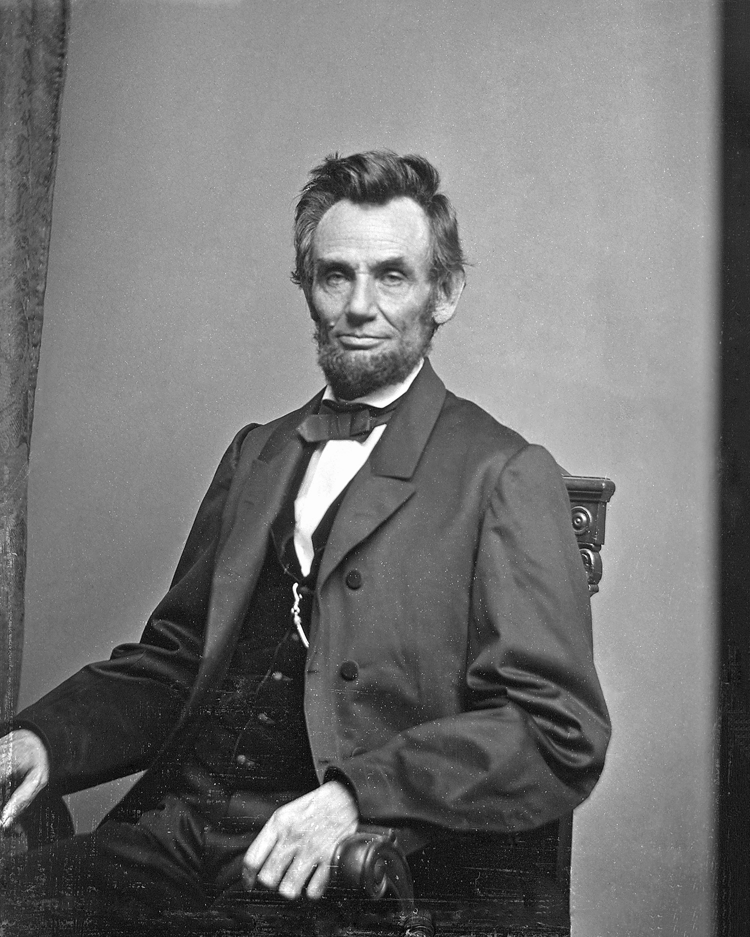 Abraham Lincoln portrait, 1884