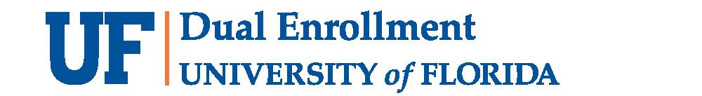 UF Dual Enrollment Logo